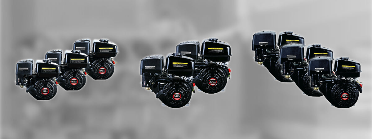 Loncin 1-Cylinder Air-Cooled Petrol Engines