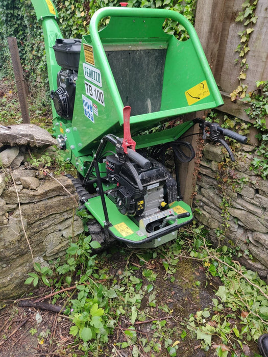 TB100-C Tracked Drum Chipper