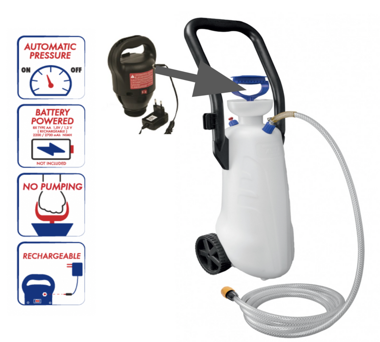 ED7200 Dust Suppression / Water Sprayer - Battery Operated Rechargeable