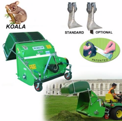KOALA - Professional Flail Mower Collector