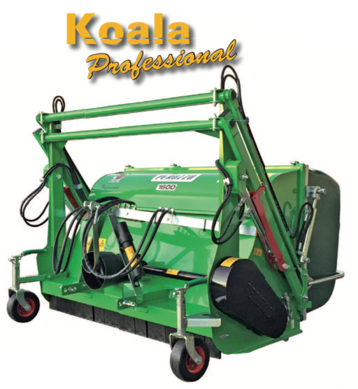 KOALA PRO - Professional Flail Mower Collector with High Tip