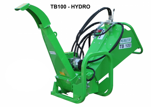 TB100 Hydro Drum Chipper
