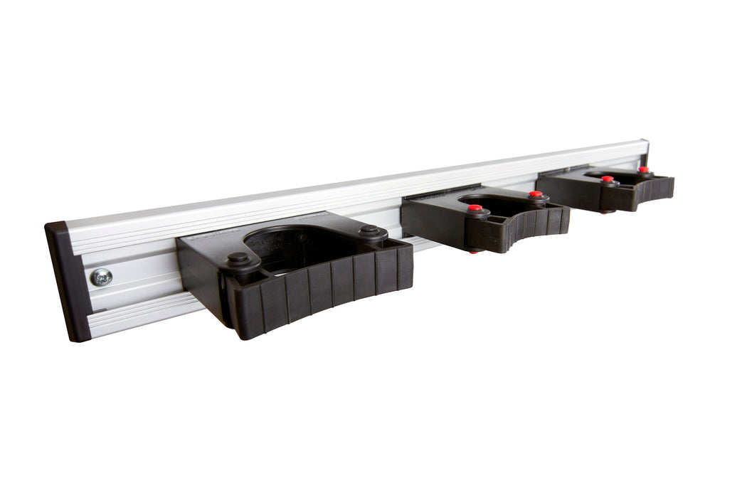 TFLEX555-1 Toolflex 50 cm Aluminium Rail with 3x Holders