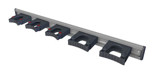 TFLEX556-1 Toolflex 90 cm Aluminium Rail with 5x Holders