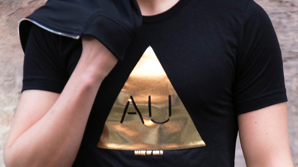 Men's Gold Au Shirt