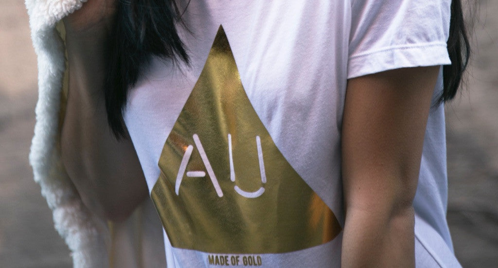 Women's Gold AU Shirt