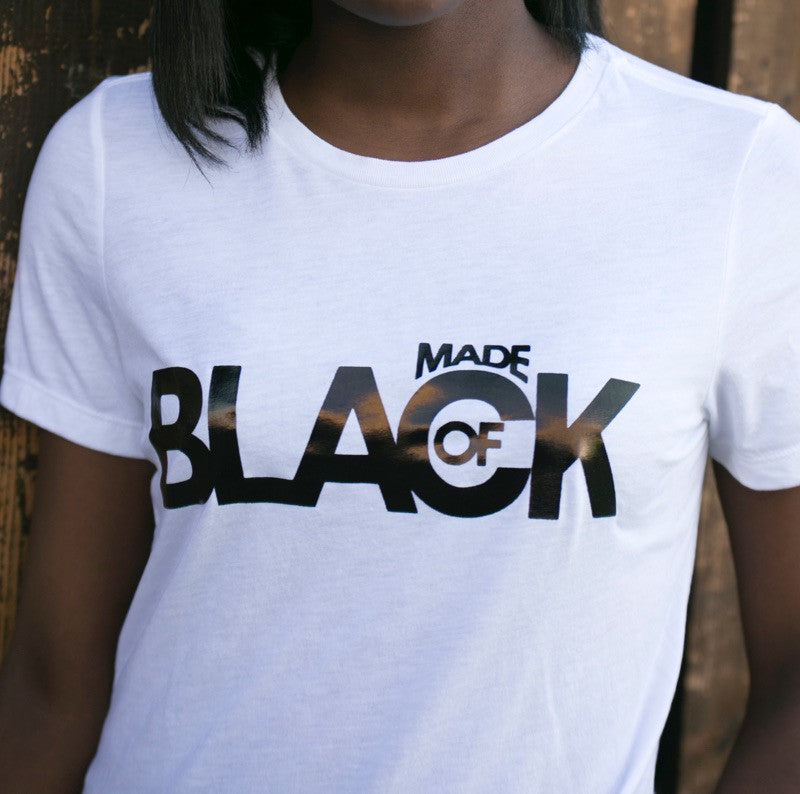 Women's Made Of Black Shirt
