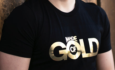 Men's Made of Gold Shirt