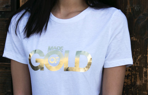 Women's Made Of Gold Shirt