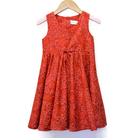 Tea Party dress - Red