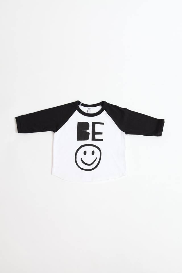 Be Happy Raglan