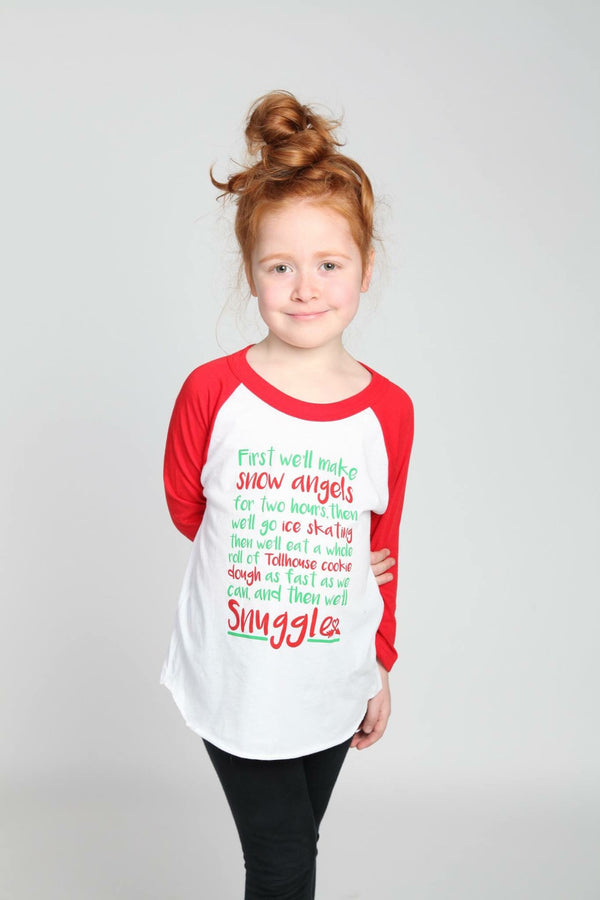 Buddy The Elf Quote Kids Raglan