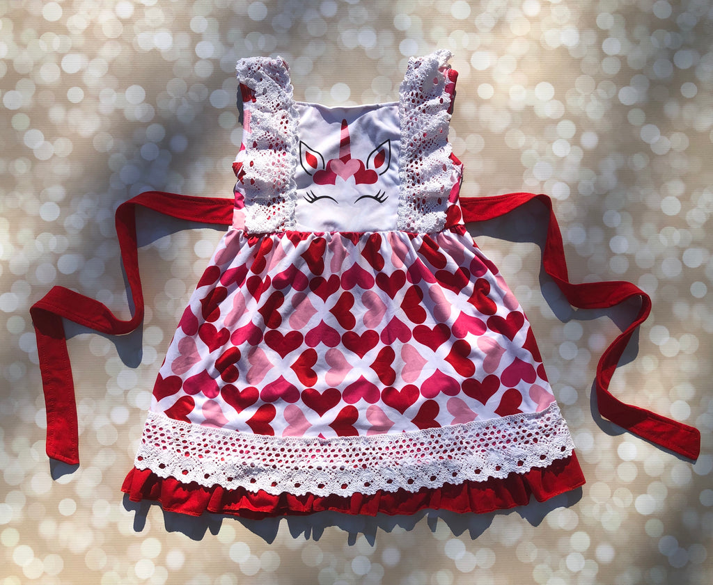 Unicorn Hearts Dress