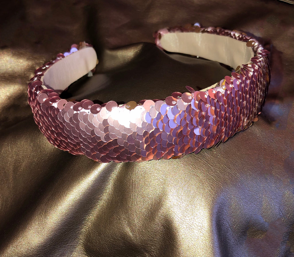 2 in 1 Sequin Headband