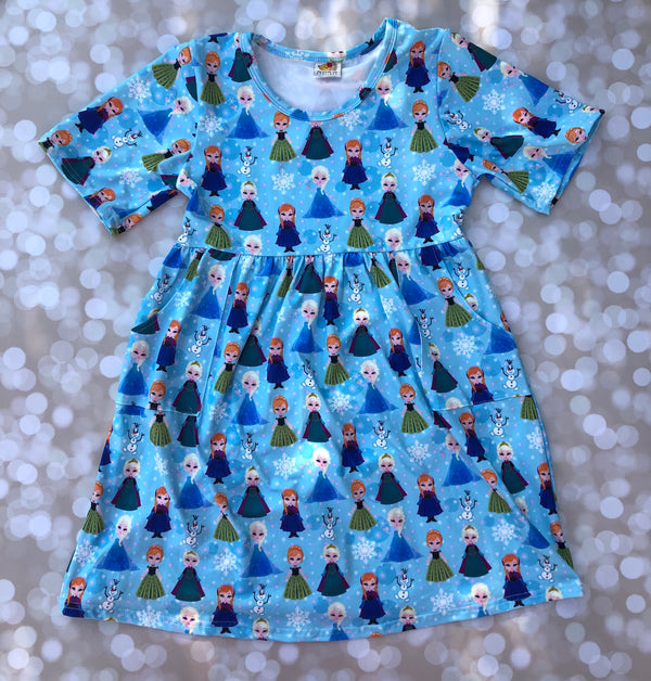 Ice Princess Pocket Dress
