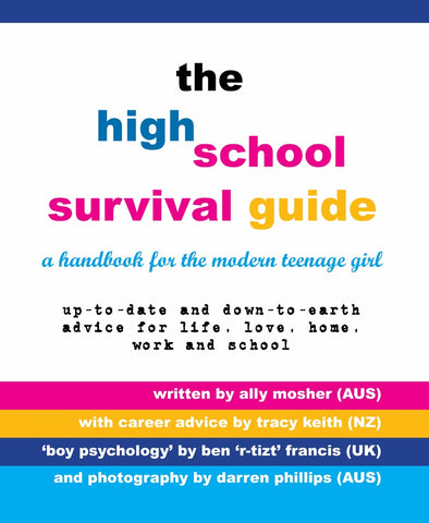 High School Survival Guide for Teenage Girls gift pack by Ally Mosher