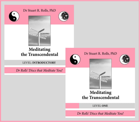 Meditating the Transcendental Gift Pack - two CDs