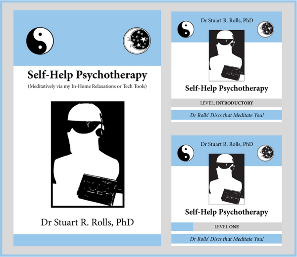 Self-Help Psychotherapy Gift Pack - book and two CDs