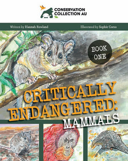 Conservation Collection AU - Critically Endangered: Mammals by Hannah Rowland
