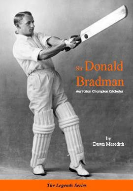 Sir Donald Bradman by Dawn Meredith