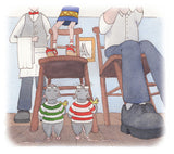 When the Cat's Away by Donna Gibbs, illustrated by Lionel King