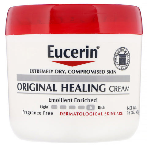 Eucerin Original Healing Soothing Repair Creme, Fragrance Free, 16 oz | OTC Shoppe Express