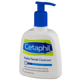 Cetaphil Daily Facial Cleanser, Normal to Oily Skin, 8 oz