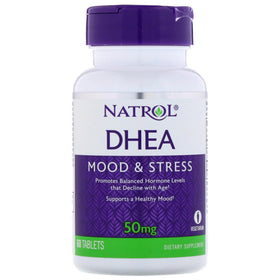 Natrol DHEA 50 mg Tablets 60 ea