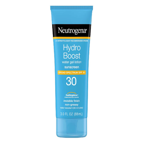 Neutrogena Hydro Boost Water Gel Lotion Sunscreen, SPF 30, 3 oz