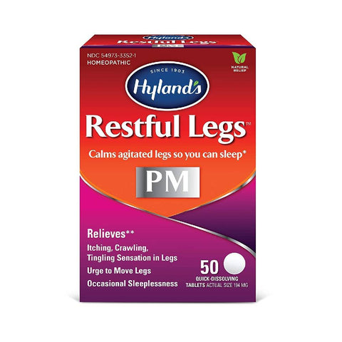 Hyland's Restful Legs PM, Quick-Dissolving Tablets, 50 ea