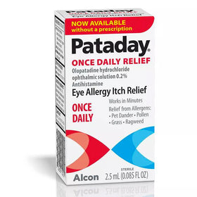 Pataday Once Daily Eye Allergy Itch Relief Eye Drops, 2.5 ml