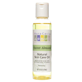 Aura Cacia Natural Skin Care Oil, Nurturing Sweet Almond, 4 oz | OTC Shoppe Express