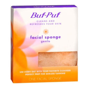 Buf-Puf Cleans and Refreshen Your Skin, Facial Sponge, Gentle, 1 ea | OTC Shoppe Express