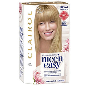 Clairol Nice 'N Easy Hair Color, Light Ash Blonde #9A, 1 kit | OTC Shoppe Express