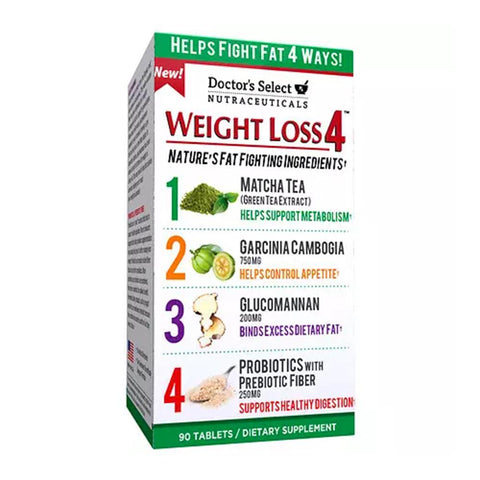 Doctor's Select Nutraceuticals Weight Loss 4, 90 ea | OTC Shoppe Express