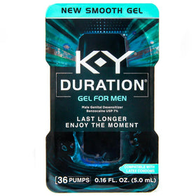 K-Y Duration Male Genital Desensitizer Gel Pump, 0.16 oz | OTC Shoppe Express