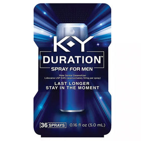 K-Y Duration Male Genital Desensitizer Spray, 36 Sprays, 0.16 oz | OTC Shoppe Express