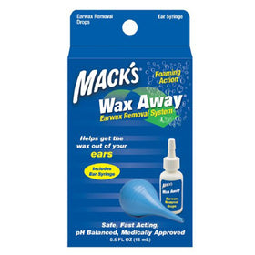 Mack's Wax Away Earwax Removal System, 1 ea | OTC Shoppe Express