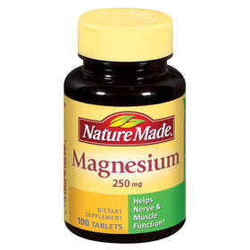 Nature Made Magnesium, 250 mg, Tablets, 200 ea | OTC Shoppe Express