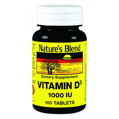 Nature's Blend Vitamin C, 1000 mg, Tablets, 100 ea | OTC Shoppe Express