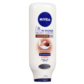 Nivea In-Shower Body Lotion, Cocoa Butter, 13.5 oz | OTC Shoppe Express