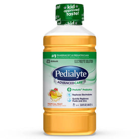 Pedialyte Advanced Care Electrolyte Solution, Tropical Fruit, 33.8 oz | OTC Shoppe Express