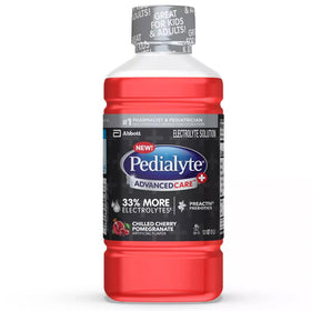 Pedialyte AdvancedCare Electrolyte Drink, Chilled Cherry Pomegrante, 1 L | OTC Shoppe Express