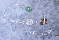 Sea Glass & Sterling Silver