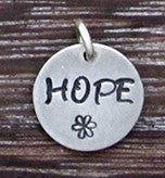 HOPE Charm - Sterling Silver
