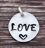 LOVE Charm - Sterling Silver