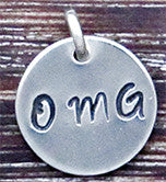 OMG Charm - Sterling Silver