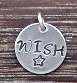 WISH Charm - Sterling Silver