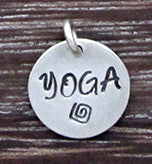 YOGA Charm - Sterling Silver