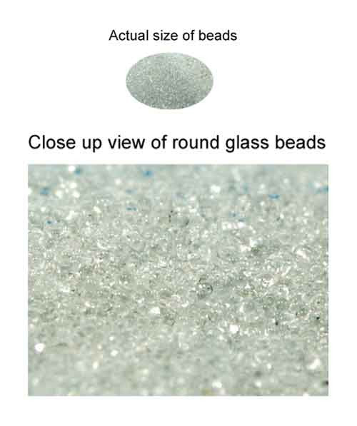 Weighted Glass Beads - 2lbs